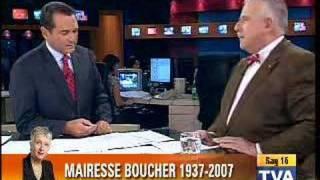 Décès de la Mairesse Andrée Boucher