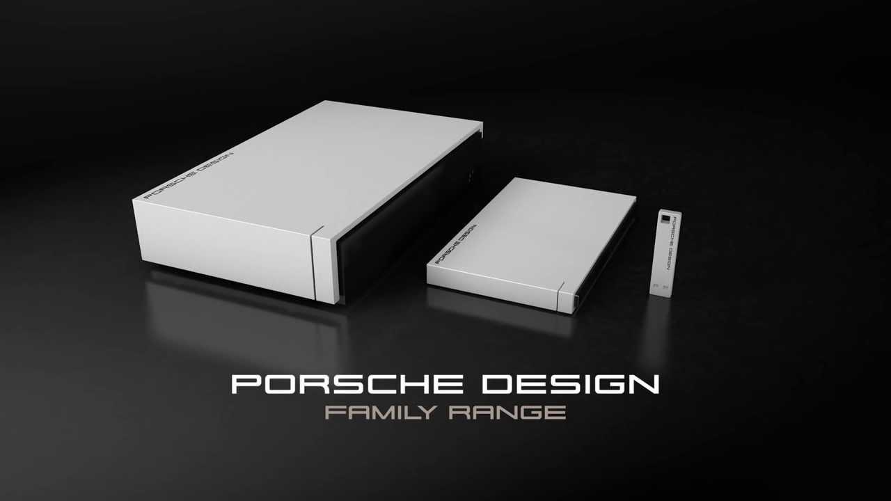 Buy - Lacie Porsche P9220 Mobile External Hard Drive - USB 3.0   USB