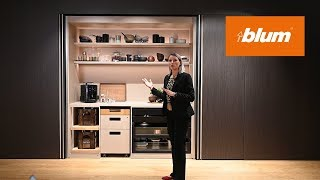 Blum Pocketsystems: Hide Large Living Areas