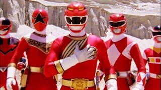 Epic Ten Red Ranger Team Up | Forever Red | Power Rangers Wild Force | Power Rangers Official