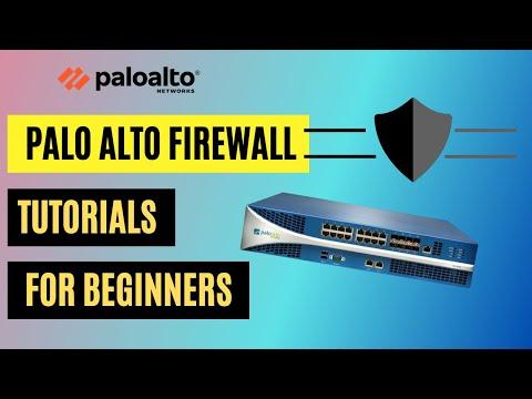 Palo Alto Firewall Training Fundamentals   Palo Alto ... - YouTube