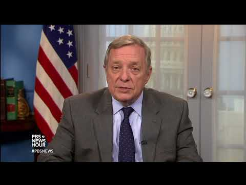 Durbin: 'I stand by every word that I've said' about Trump disparaging remarks