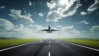 AIRPLANE LANDING SOUND EFFECTS IN HIGH QUALITY AUDIO