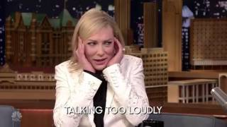 Cate Blanchett funny and brilliant moments