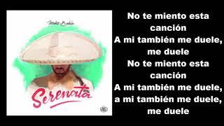 Mike Bahía   Serenata Letra