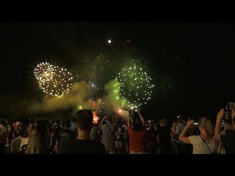 Γαλλία: Τα πυροτεχνήματα επέστρεψαν στη Νίκαια