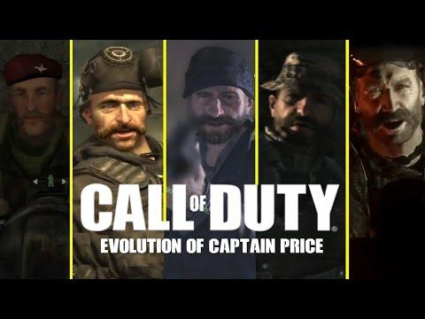 Call of Duty Modern Warfare Series - Evolution of Captain Price