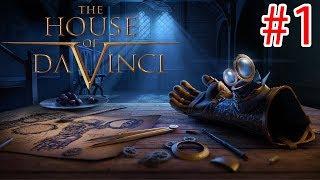 The House Of Da Vinci - Walkthrough Gameplay - PART 1