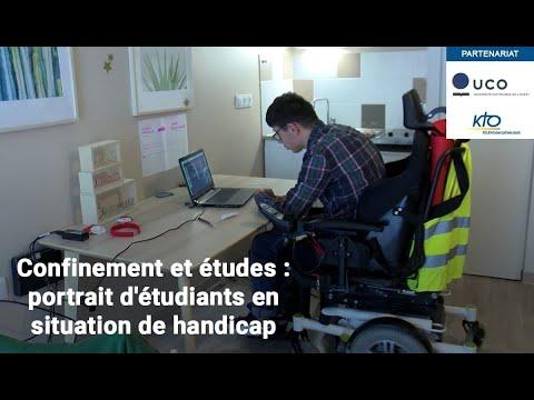 Confinement et études : portrait d'étudiants en situation de handicap