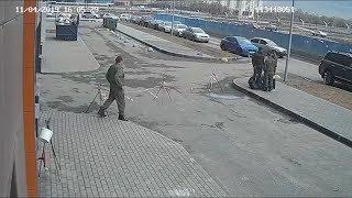 Попытка похищения человека в Санкт Петербурге