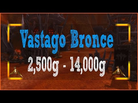 WoW: Vástago Bronce | 2,500g - 14,000g | Mascota Compañía
