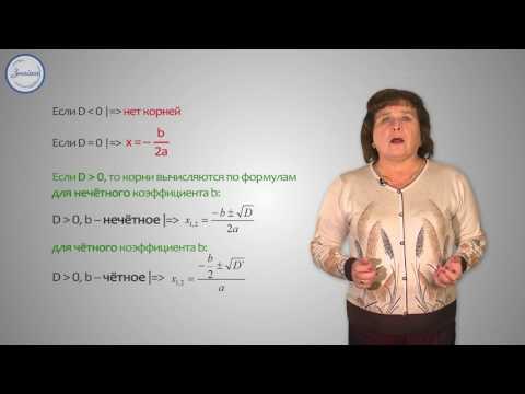 Способы решения квадратного уравнения