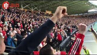 Video FAN CHANTS!   Hull City 0-1 Manchester United   Premier League