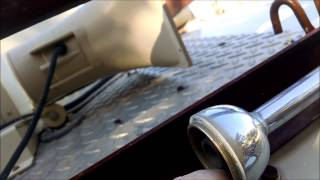 Air Horn Clean and Repair - BlueBird Wanderlodge RV Maintenance
