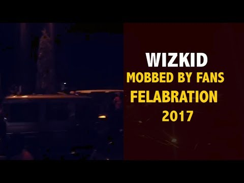 WIZKID MOBBED BY FANS AT FELABRATION 2017 ( Nigerian Entertainment )