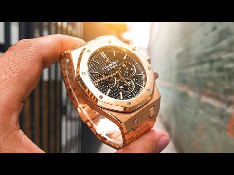 My Watch Collection – This One's My Favorite! – 41mm AP Royal Oak Chrono in Rose Gold