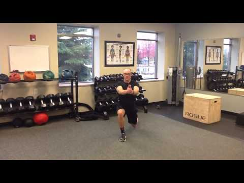 Reverse Lunge with Torso Rotation