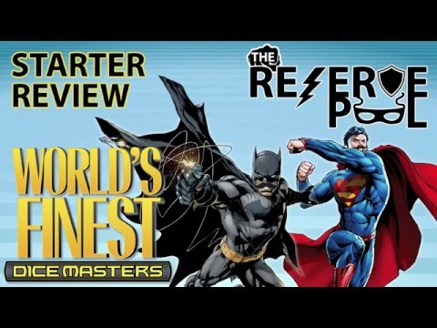 DC Dice Masters World's Finest Starter Review: Characters part 1