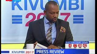 Press Review: The Final Countdown