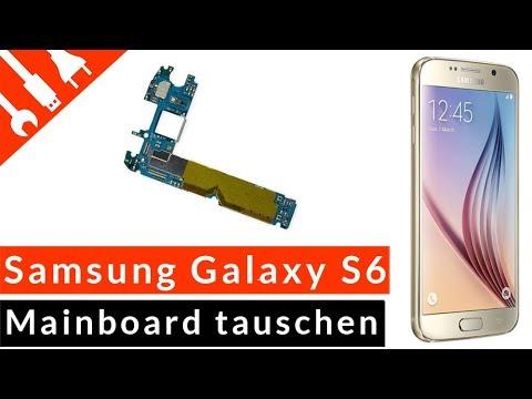 S6 Mainboard Reparatur | Samsung Galaxy S6 Platine Tutorial selbst wechseln wenig Kosten kaputt de
