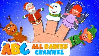 Christmas Finger Family Song | Jingle Bells Song | Plus More Kids Songs by All Babies Channel