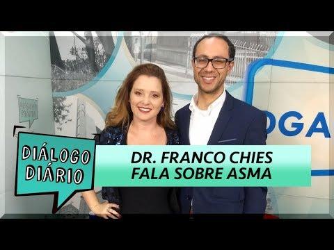 Diálogo Diário debate sobre asma com pneumologista