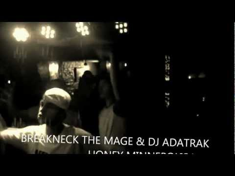 Breakneck the Mage & DJ Adatrak Live at Honey September 2012