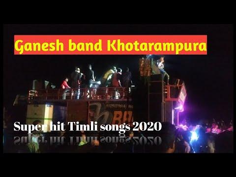 Ganesh band Khotarampura  Super hit Timli songs 2020