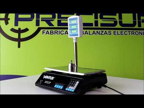 Balanza Electrónica de Mesa Precisur Ventus