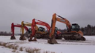 Quebec Dancing Excavators