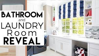 Laundry Room & Bathroom | Interior Design | Rancho Santa Fe, REVEAL #3