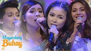 """Magandang Buhay: Yeng, KZ, Kyla & Angeline sing """"Pasko sa Pinas"""""""