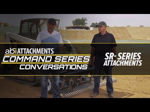 ABI SR3 & SR1 Skid Steer Rake Conversation