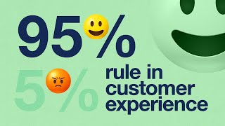 The 95% - 5% Rule In Customer Experience, By Keynote Speaker Steven Van Belleghem