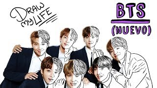 BTS | Draw My Life UPDATED with Sergio Labrador
