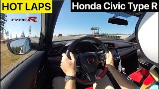 Honda Civic Type R  — On Track