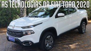 As tecnologias da Fiat Toro 2020