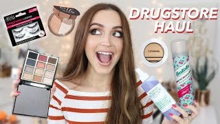 DRUGSTORE HAUL | NEW Affordable Makeup & More! - Video Youtube