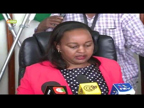 EACC allegedly clears  Waiguru of Sh791m NYS scandal