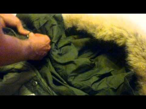 How To Attach An M65 Fishtail Parka Hood By www.itsamodthing.com