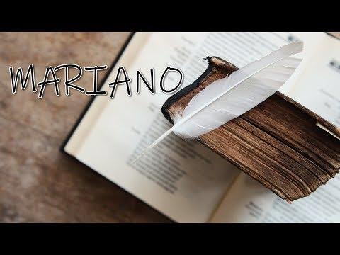 Mariano – Viata mea, de as pune-o pe hartii Video