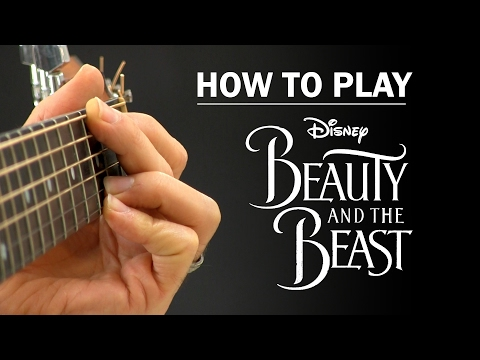 mp4 Beauty And The Beast Guitar Chords, download Beauty And The Beast Guitar Chords video klip Beauty And The Beast Guitar Chords