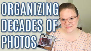Organizing Decades Of Family Photos: How To Organize Printed Photos And Sentimental Items