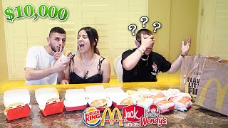 GUESS THE FAST FOOD, WIN $10,000! *Smell Challenge*