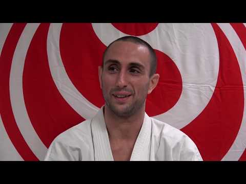 The 12th World Karate Championship 4th place Valeri Dimitrov (Bulgaria)