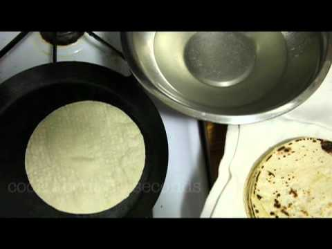 Revive Old Corn Tortillas With A Cold Water Dip Before Reheating