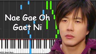 Sad Love Story - Nae Gae Oh Gaet Ni Piano Tutorial