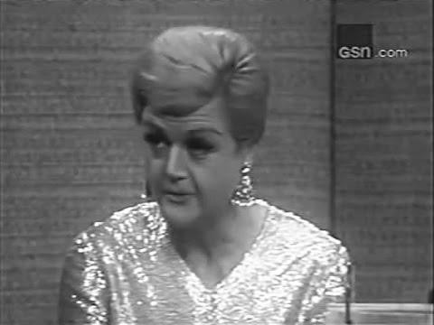 What&#39s My Line? - Angela Lansbury PANEL: Steve Allen, Pia Lindstrom (Dec 4, 1966)