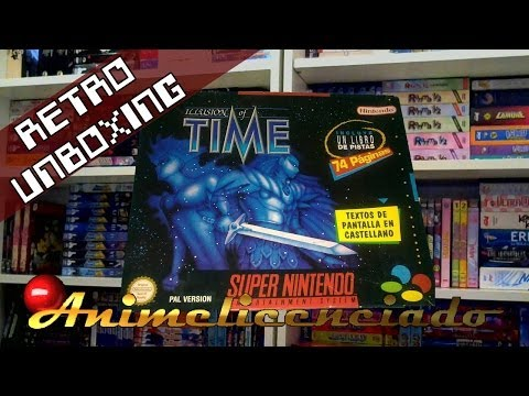 Illusion of Time, retro unboxing by Animelicenciado