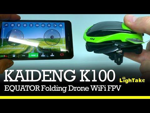 KAIDENG EQUATOR K100 - Drone pieghevole economico e tascabile [Lightake.com]